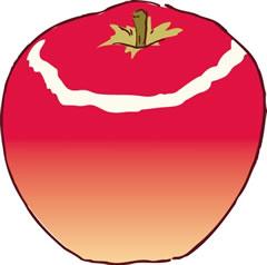 不思議なリンゴの木