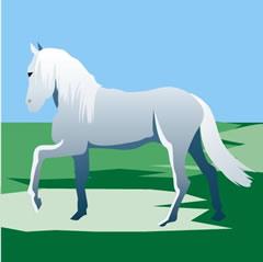 軍馬と粉屋