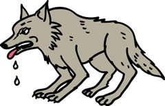オオカミ退治